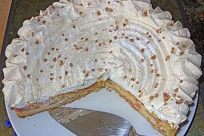 Rhabarber - Baiser - Kuchen 113