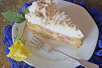 Rhabarber - Baiser - Kuchen 32