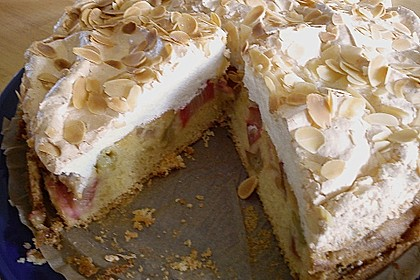 Rhabarber - Baiser - Kuchen 39