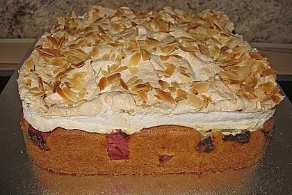 Rhabarber - Baiser - Kuchen 54