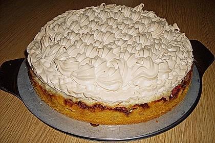 Rhabarber - Baiser - Kuchen 5