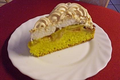 Rhabarber - Baiser - Kuchen 125