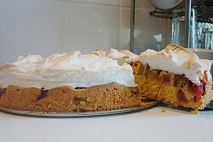 Rhabarber - Baiser - Kuchen 84