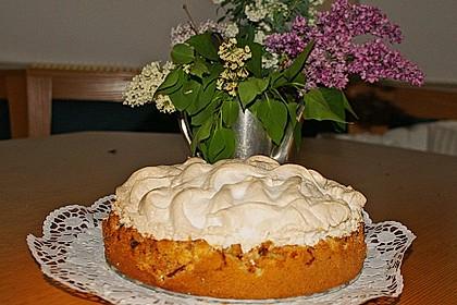 Rhabarber - Baiser - Kuchen 44