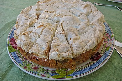 Rhabarber - Baiser - Kuchen 17