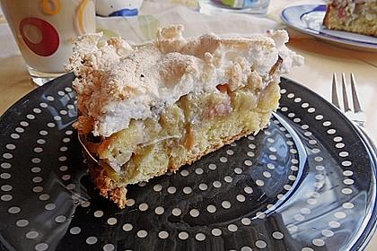 Rhabarber - Baiser - Kuchen 55