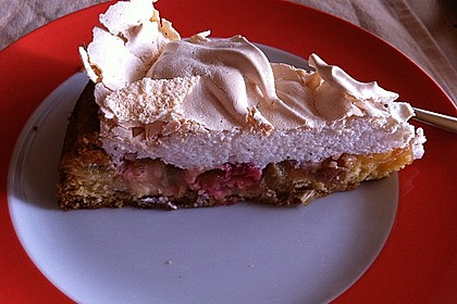 Rhabarber - Baiser - Kuchen 48