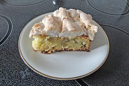Rhabarber - Baiser - Kuchen 100