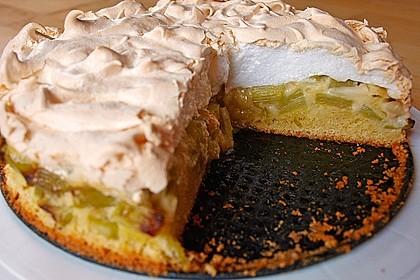 Rhabarber - Baiser - Kuchen 36