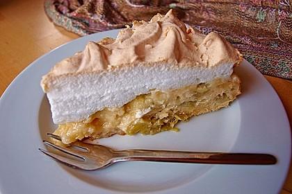 Rhabarber - Baiser - Kuchen 12