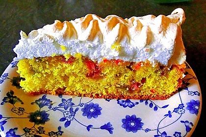 Rhabarber - Baiser - Kuchen 52