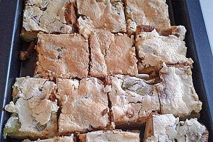 Rhabarber - Baiser - Kuchen 110