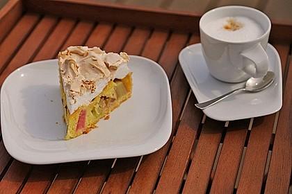 Rhabarber - Baiser - Kuchen 4