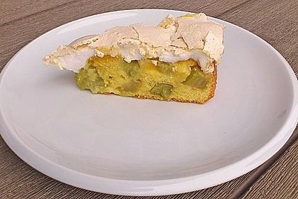 Rhabarber - Baiser - Kuchen 92