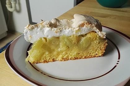 Rhabarber - Baiser - Kuchen 18