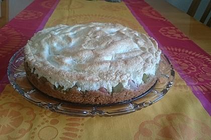 Rhabarber - Baiser - Kuchen 72