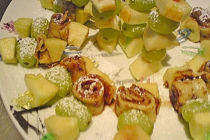 Crepe - Fruchtspieß 7