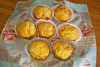 Schnelle vegane Apfel- oder Heidelbeermuffins 4
