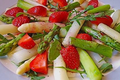 Rucola - Spargel - Erdbeer - Salat