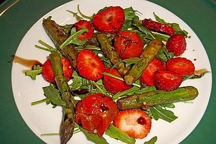 Rucola - Spargel - Erdbeer - Salat 12