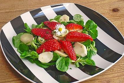 Rucola - Spargel - Erdbeer - Salat 7