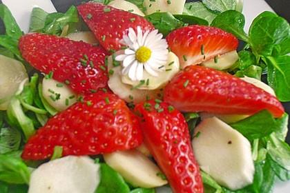 Rucola - Spargel - Erdbeer - Salat 18