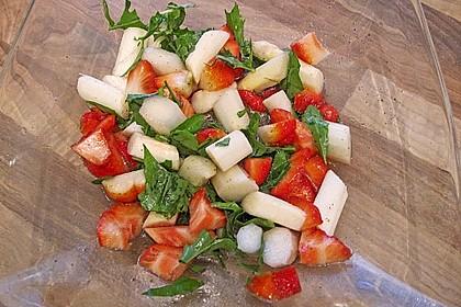 Rucola - Spargel - Erdbeer - Salat 10