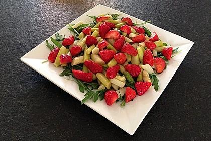 Rucola - Spargel - Erdbeer - Salat 5