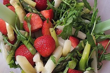 Rucola - Spargel - Erdbeer - Salat 13