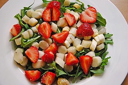 Rucola - Spargel - Erdbeer - Salat 16