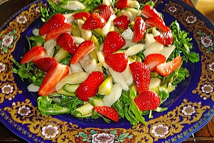 Rucola - Spargel - Erdbeer - Salat 15