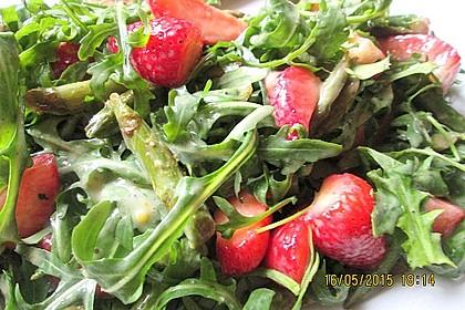 Rucola - Spargel - Erdbeer - Salat 19