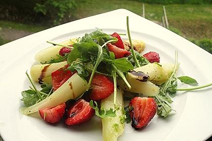 Rucola - Spargel - Erdbeer - Salat 2