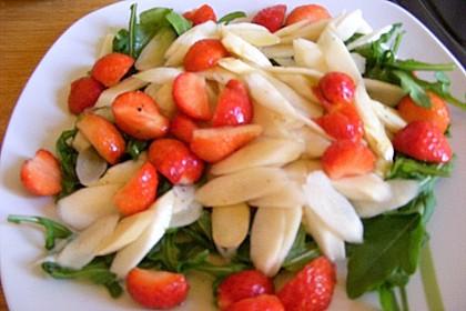 Rucola - Spargel - Erdbeer - Salat 17