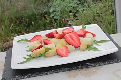 Rucola - Spargel - Erdbeer - Salat 6