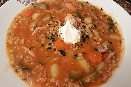 Rassolnjik Suppe (Bild)
