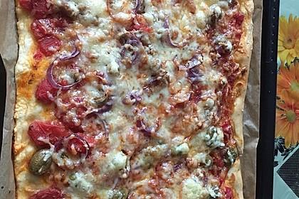 Pizzateig, kalorien- und fettarm 11