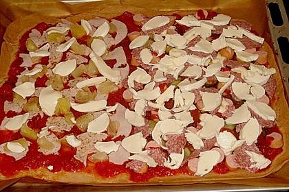 Pizzateig, kalorien- und fettarm 39