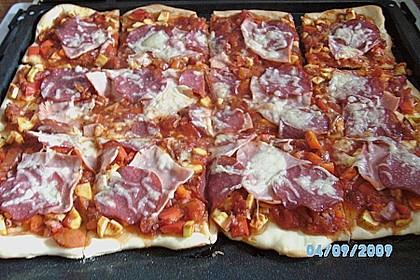 Pizzateig, kalorien- und fettarm 35