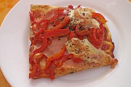 Pizzateig, kalorien- und fettarm 7