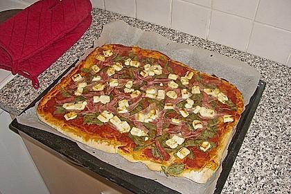Pizzateig, kalorien- und fettarm 15