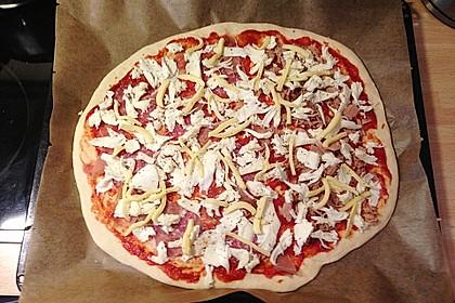 Pizzateig, kalorien- und fettarm 25