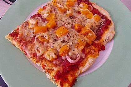 Pizzateig, kalorien- und fettarm 12