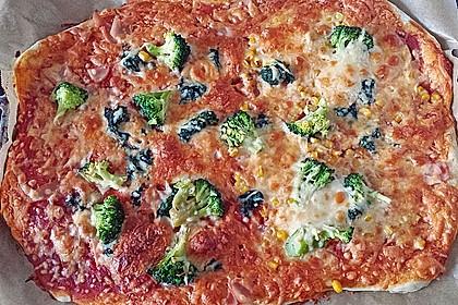 Pizzateig, kalorien- und fettarm 13