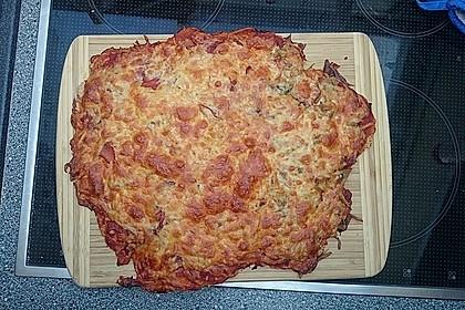 Pizzateig, kalorien- und fettarm 33