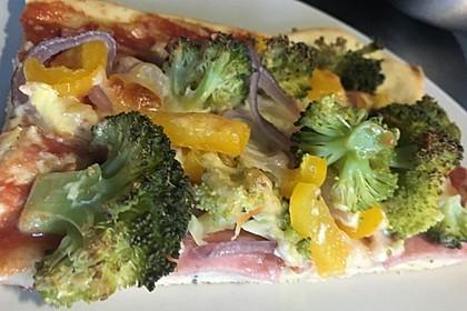 Pizzateig, kalorien- und fettarm 1