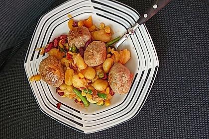 Gnocchi-Gemüse-Pfanne mit Mettbällchen 15