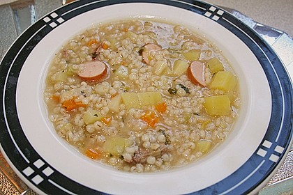 Graupensuppe 5