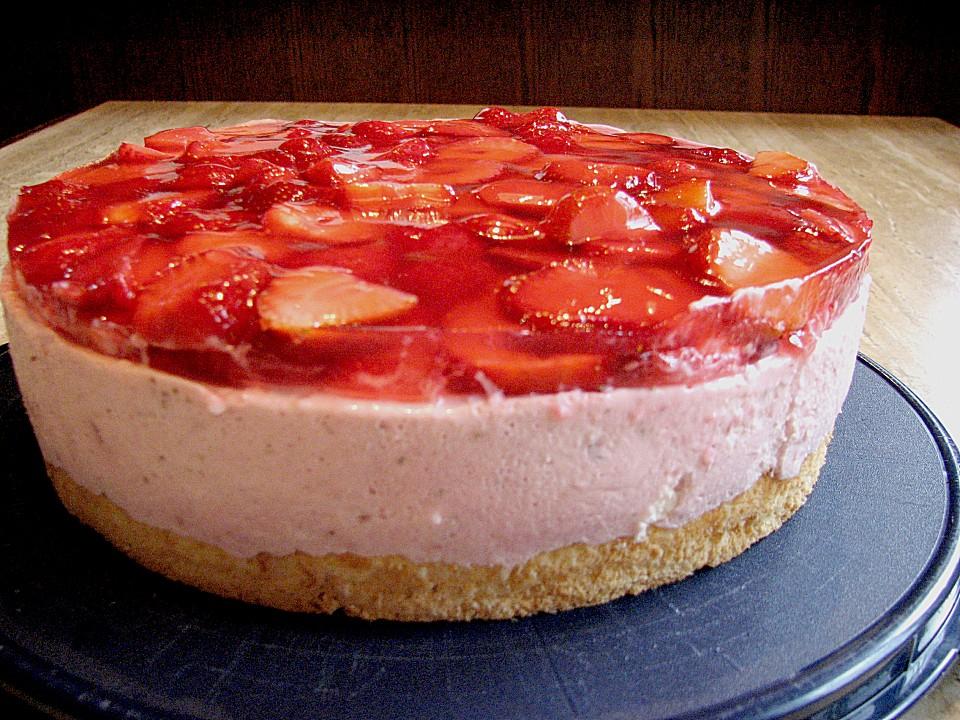 Erdbeer quark kuchen kalorien