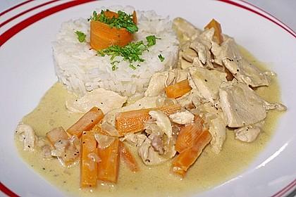 Geschnetzeltes Hühnerbrustfilet mit Boursin 5